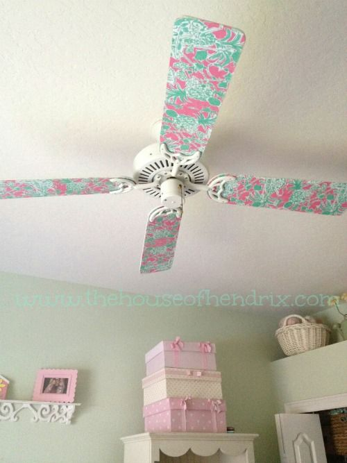 Diy Paddle Fan Makeover Future Baby Burton Ceiling