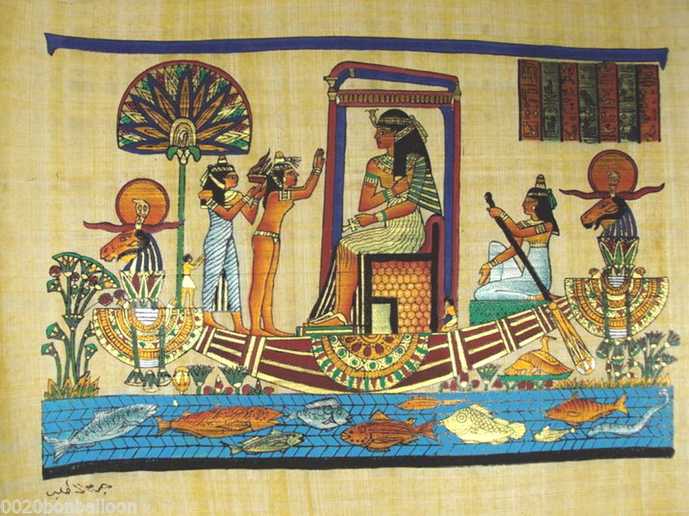 Ancient egyptian paintings egyptian paintings for Ancient egyptian mural paintings