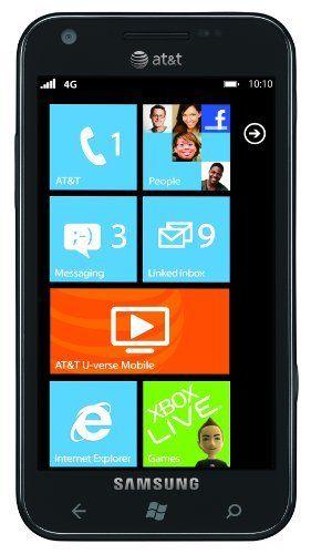 Samsung Focus S 4g Windows Phone At Windows Phone Samsung Phone
