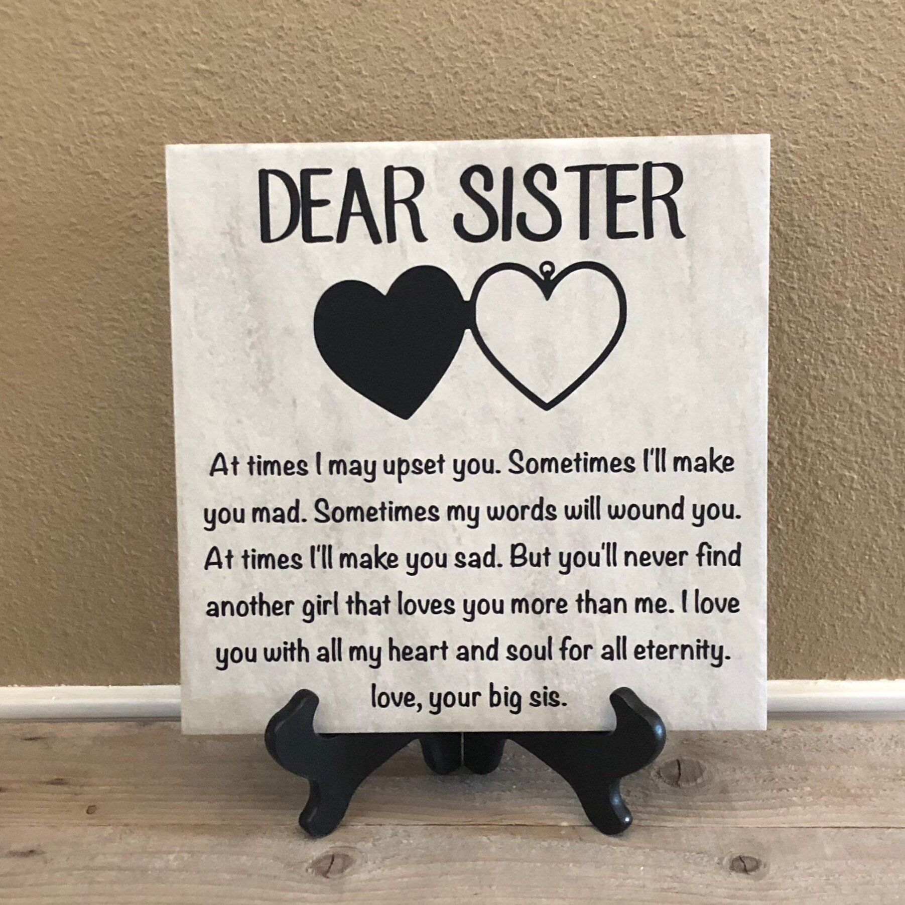 Gift For Sister Birthday Gift For Sister Christmas Gift For Etsy Birthday Gifts For Sister Unique Gifts For Sister Personalized Christmas Gifts