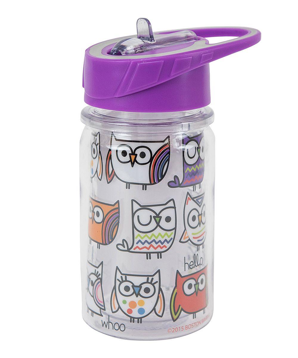 Hello Owl Kids 10-Oz. Sports Bottle