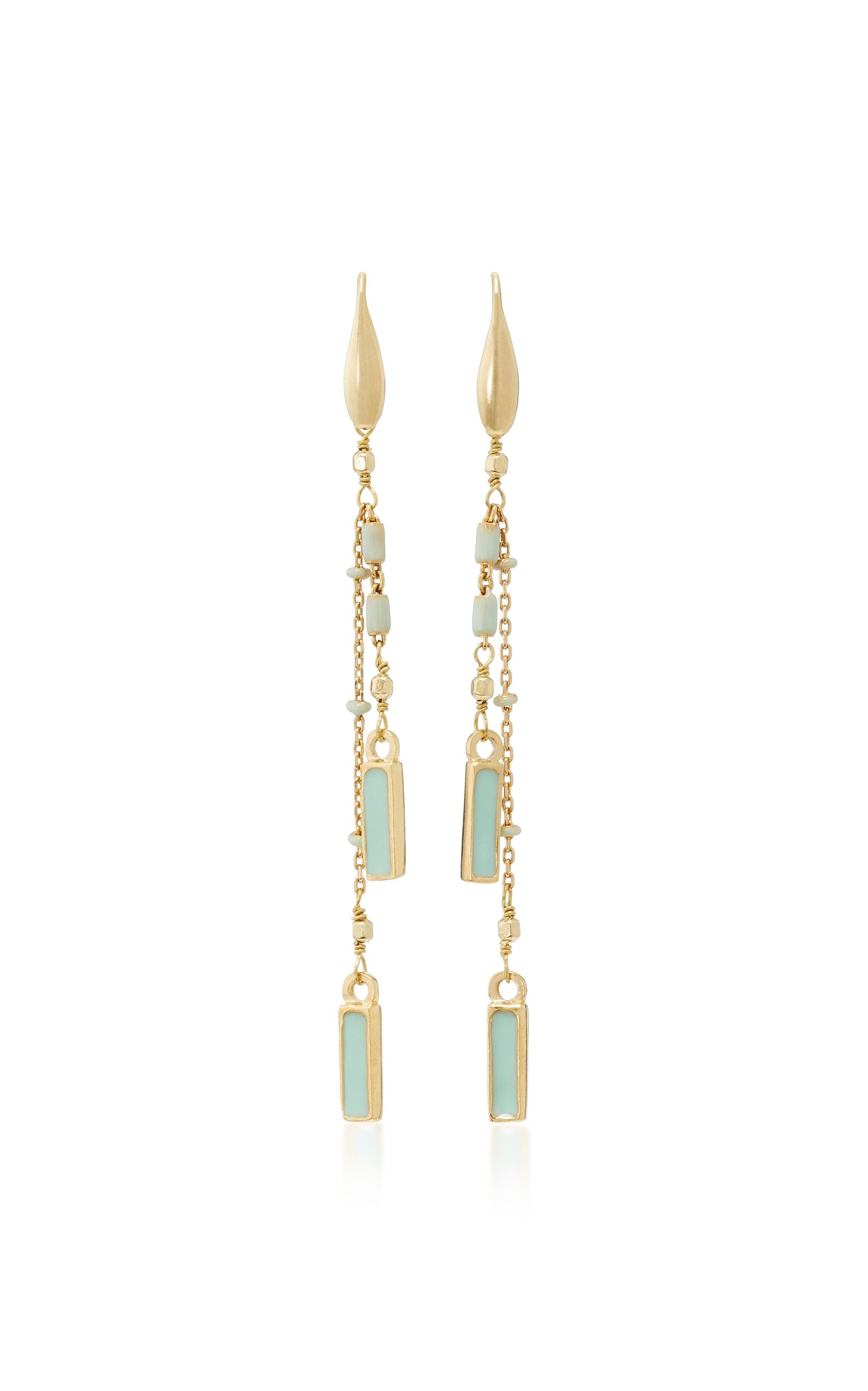 Glass and resin earrings Isabel Marant CAYIUzTCT