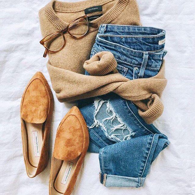 Kristin Cavallari By Chinese Laundry Chandy Flats Ootd Sweater
