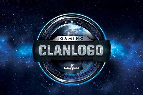 Clan Gaming Logo Templates Layered Clan Gaming Logo design ...