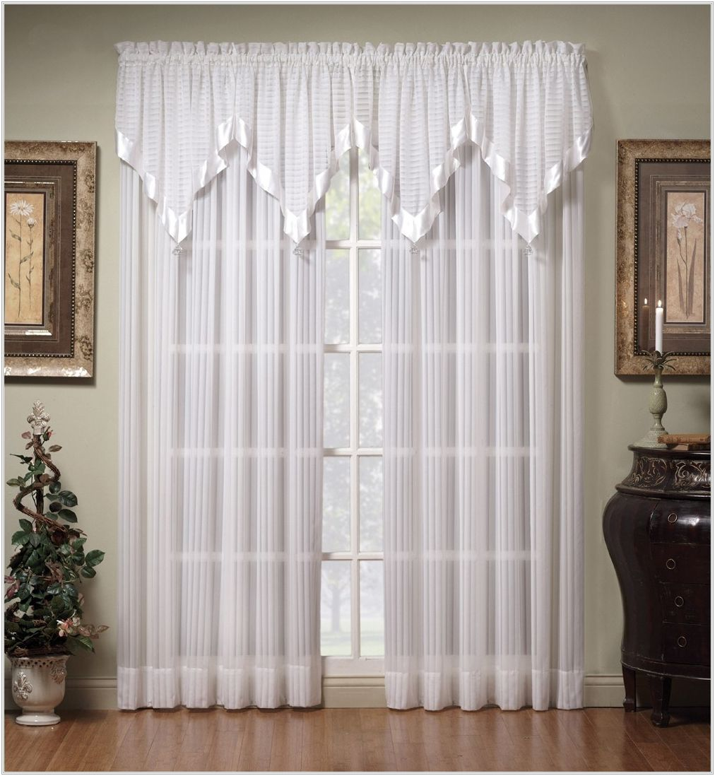 White Curtains Target Sheer Curtain Ideas Simply Shabby Chic