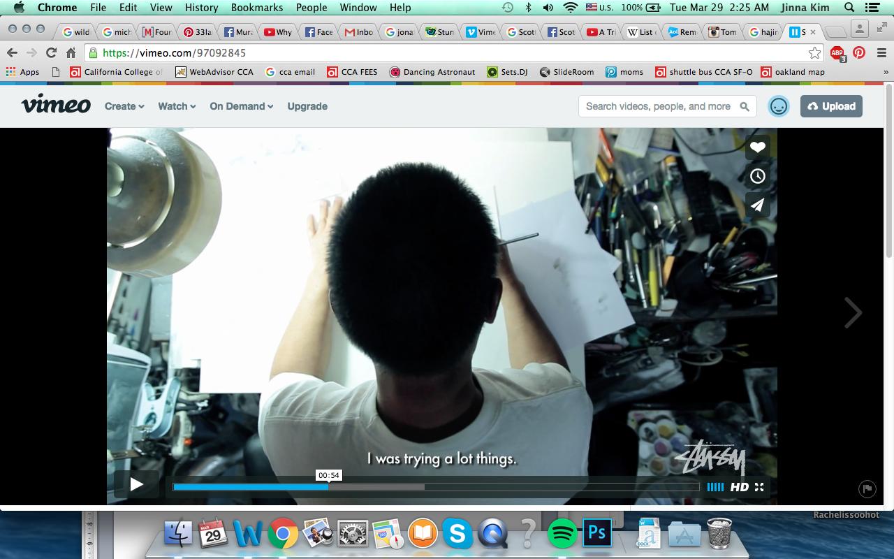 Hajime Soroyama Stussy Video Still Vimeo