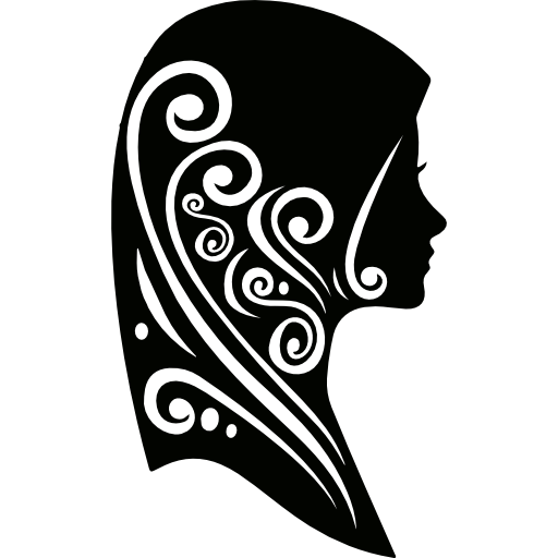 Woman with Hijab free vector icons designed by Business