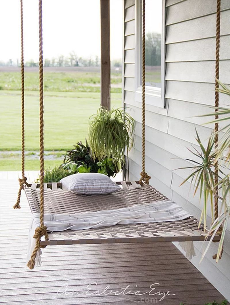 Photo of 12 DIY Swing Bed Ideas to Spruce Up Your Outdoor Space