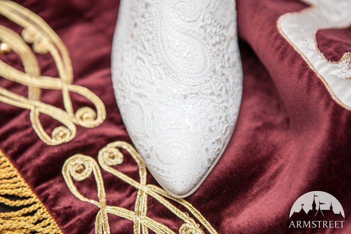 Gemusterte Damenschuhe Aus Leder Die Akkolade Schuhe Damen Lederschuhe Damen Damenschuhe