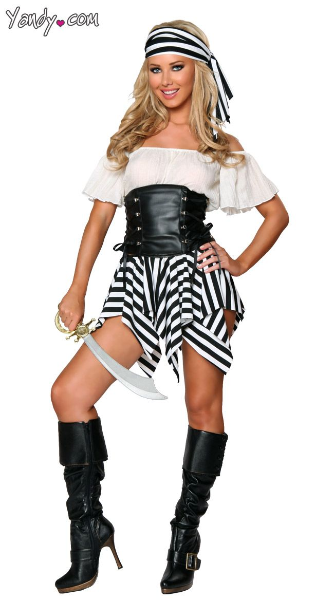 Exclusive Short Pirate Costume Exclusive Pirate Halloween Costume Black and White Pirate Costume $70  sc 1 st  Pinterest & Exclusive Short Pirate Costume Exclusive Pirate Halloween Costume ...