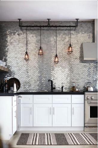 Magnifiek Industriële lampen boven het aanrecht | DIY - Keuken lampen &DP99