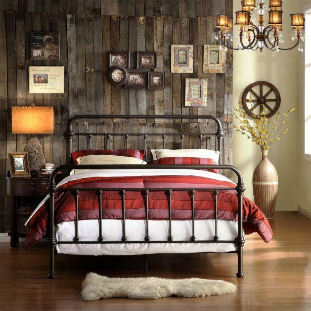 Create the perfect vintage industrial bedroom | Vendimia, El ...