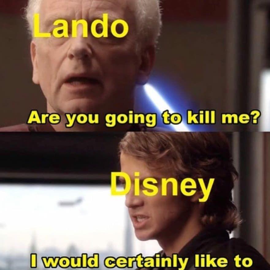 Star Wars Star Wars Memes Funny Star Wars Lando Star Wars 9 Star Wars Ix Star Wars Humor Star Wars Facts Star Wars Memes