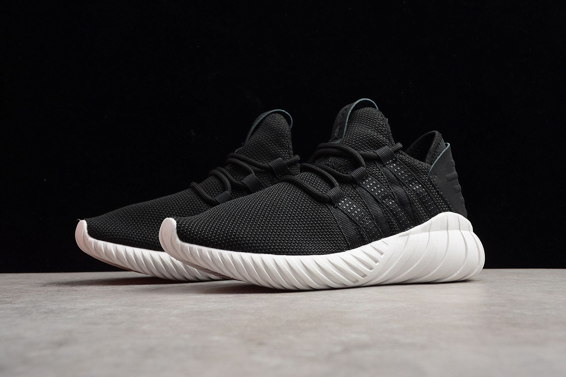 2018 Adidas Tubular Doom Sock Pk Black White By2123 For Sale New