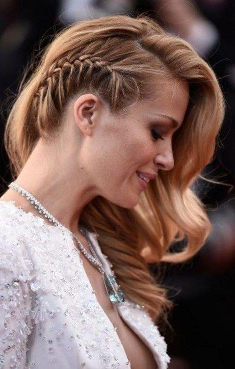 Peinados Sencillos Y Elegantes Peinados Trenzas De Lado Peinados Sencillos