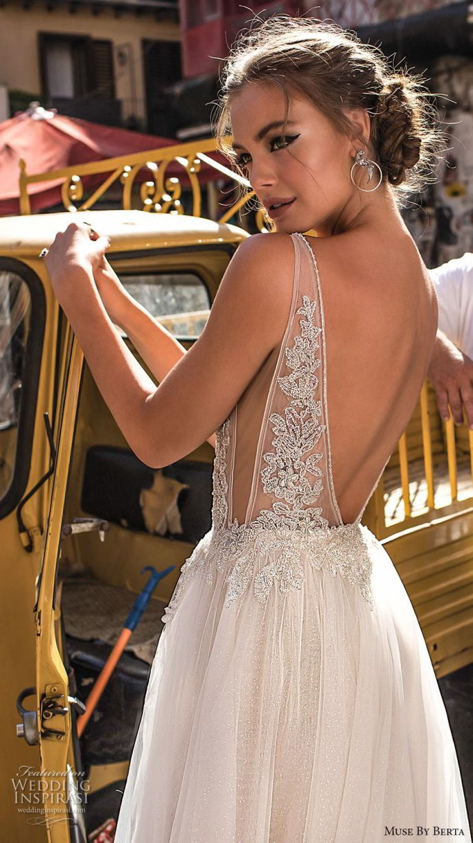 Muse by Berta 2018 Wedding Dresses #bertaweddingdress