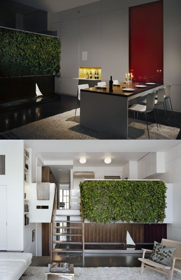 Elements of tropical modernism can be found in this submission from pulltab design which was