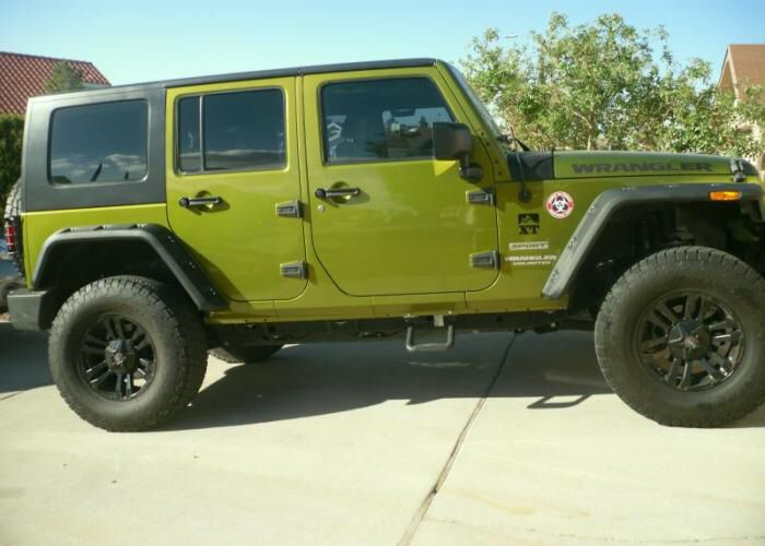 Hurricane Fender Flares Jeep Wrangler Fender Flares Monster Trucks