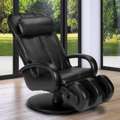 Human Touch HT-5040 WholeBody Reclining Massage Chair Color: Black