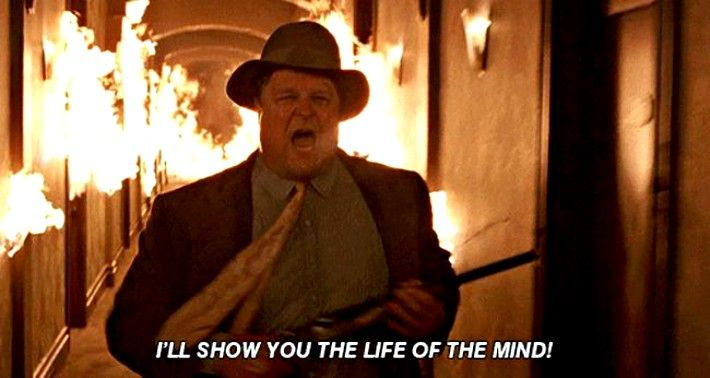 John Goodman as Charlie Meadows in Barton Fink - 1991 | The stranger movie,  John goodman, I movie