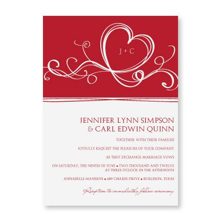 Wedding Invitation Template - DOWNLOAD - EDITABLE TEXT - Entwined - microsoft word template invitation