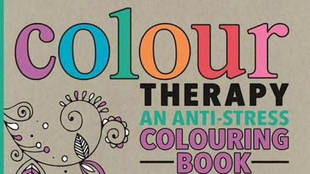 Colour Therapy Adult Colouring Books Focus On Anti Stress BenefitsAdult
