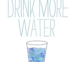Water is the best drink forever