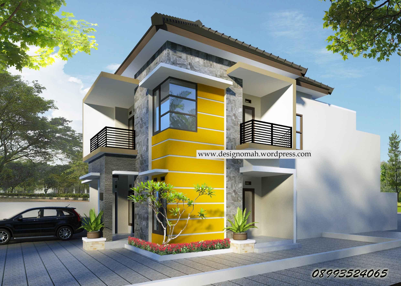 Informasi Contoh Desain Rumah Minimalis 2 Lantai Type 36 ...
