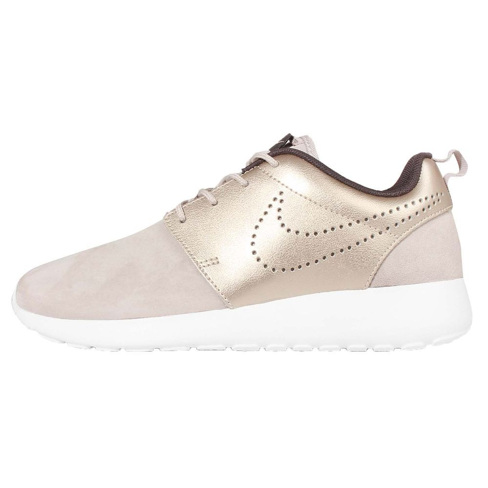 wmns nike roshe one prm suede roshe run gold womens