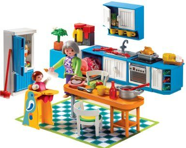 Playmobil Kitchen Look At All The Tiny Little Things I Love It