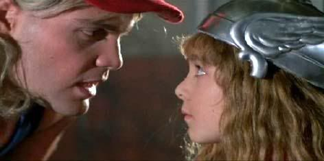 An Early Version Of Thor In Adventures In Babysitting