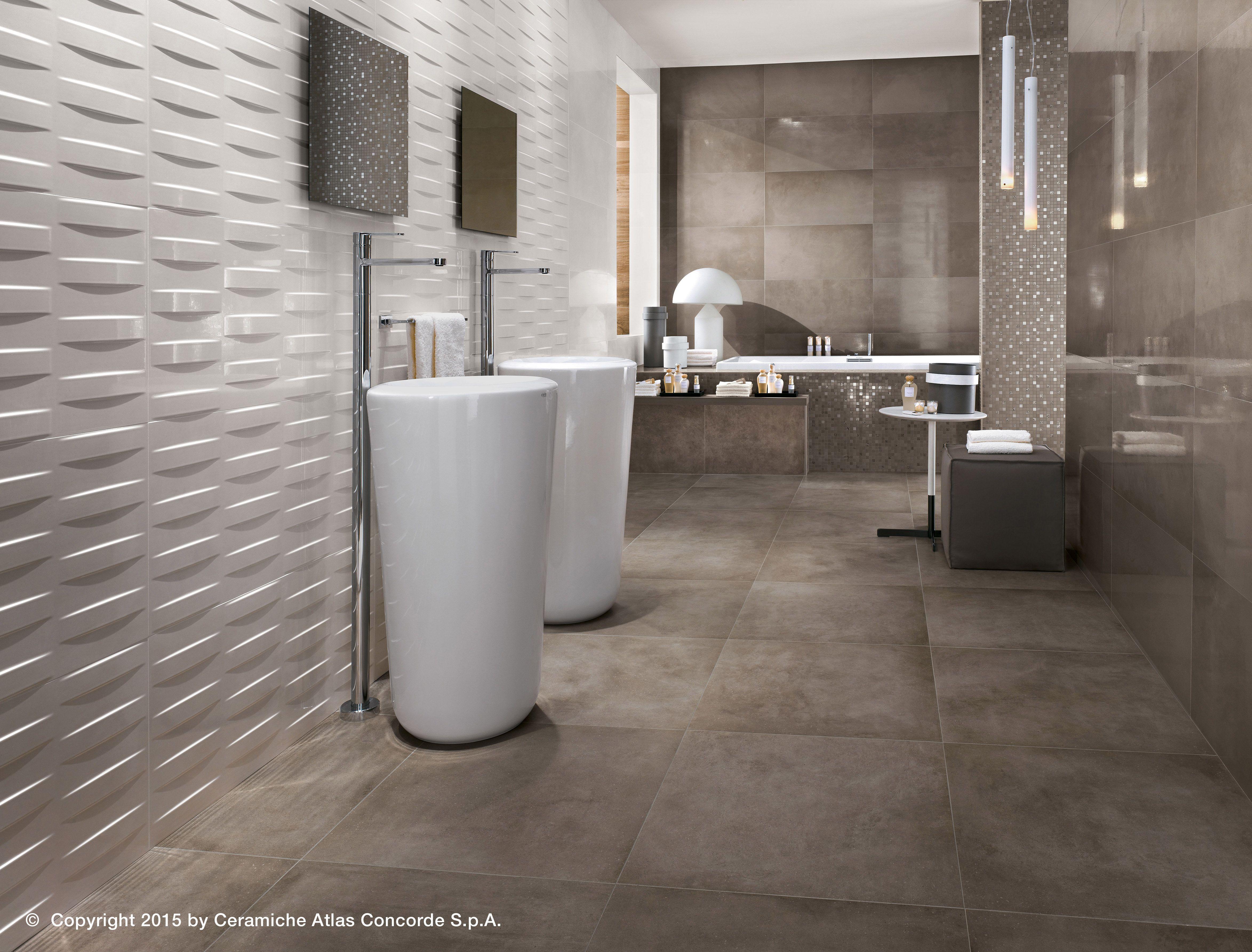 Resin bathroom floor - Dwell Wall Design Colecci N Revestimientos En Pasta Blanca By Atlas Concorde Atlasporcelain Floorconcordebath Roomwall Designpowder Roomsmail Resinproducts