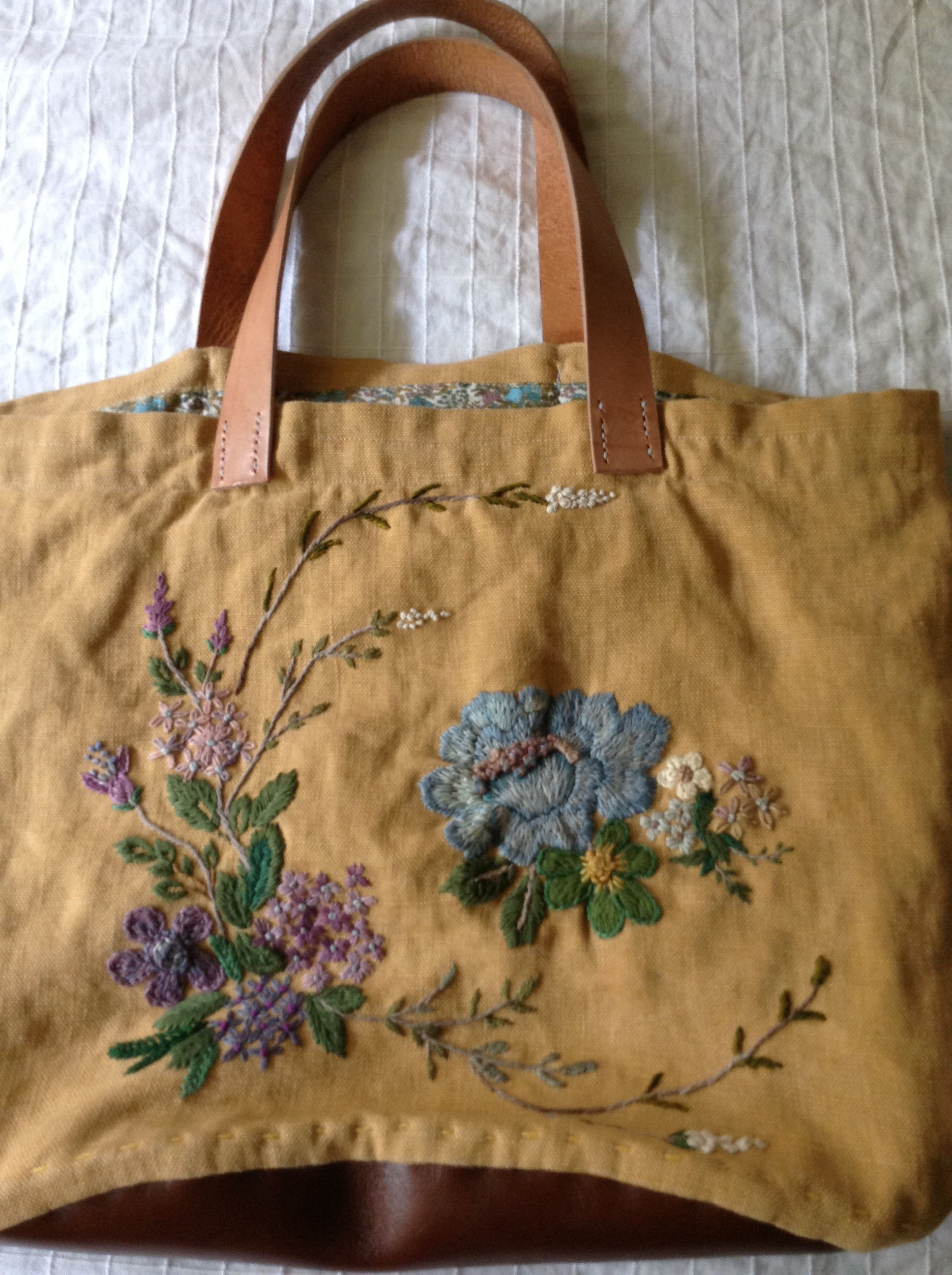 My Hand Bag And Embroidery My Handmade Works