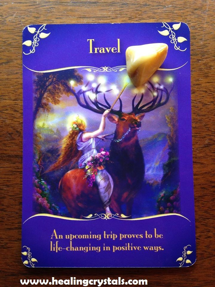 5/29/15 Today's card is from Doreen Virtue's Magical