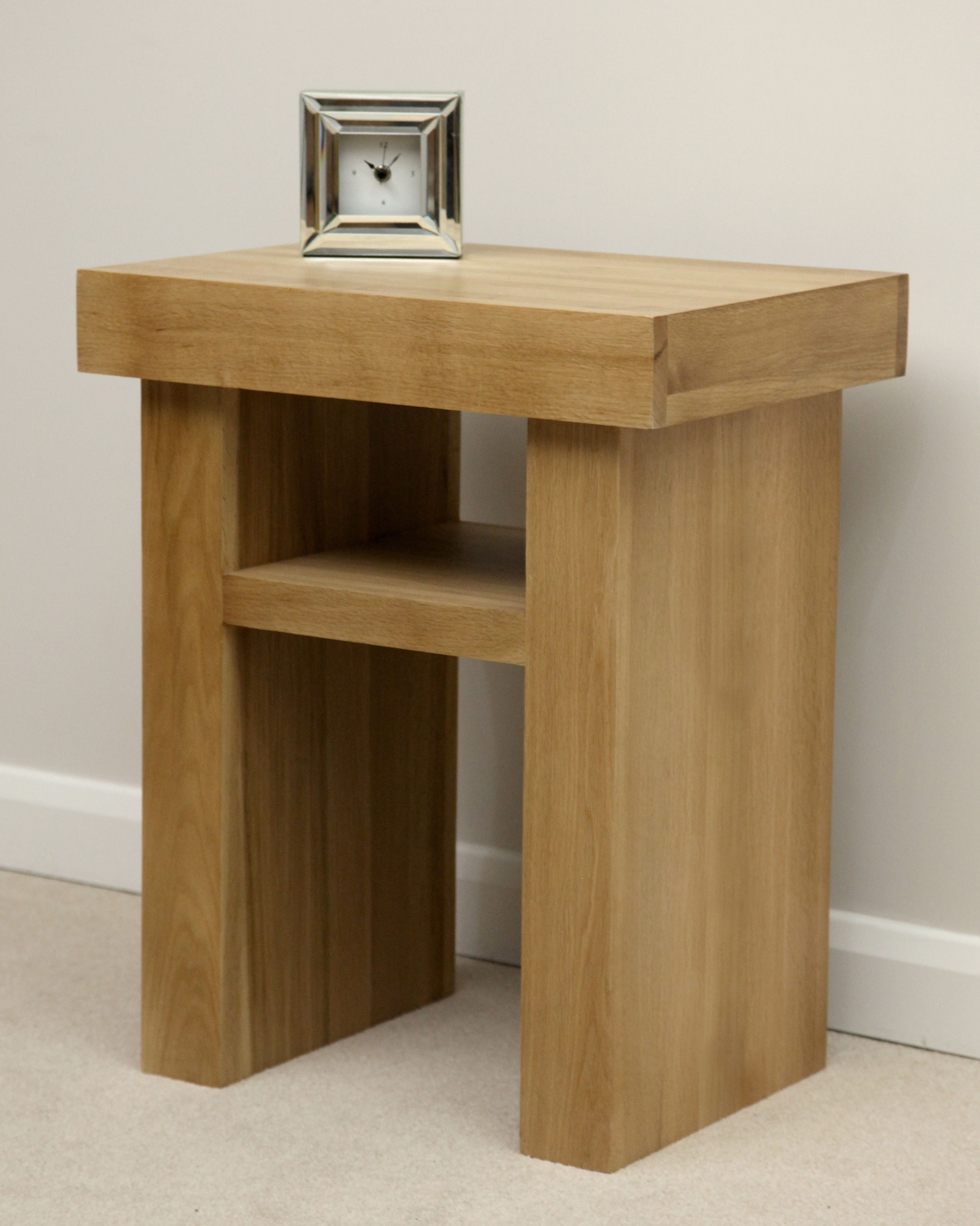 Oak Side Table: Oakdale Solid Oak Furniture Range Occasional Tables