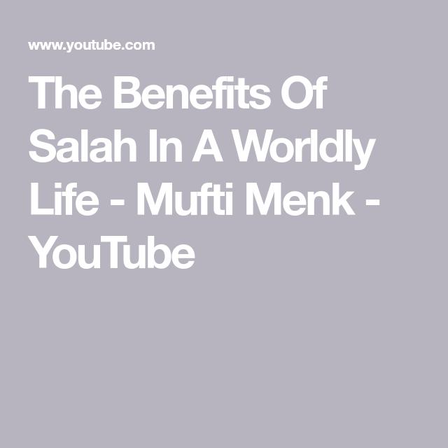benefits of salah