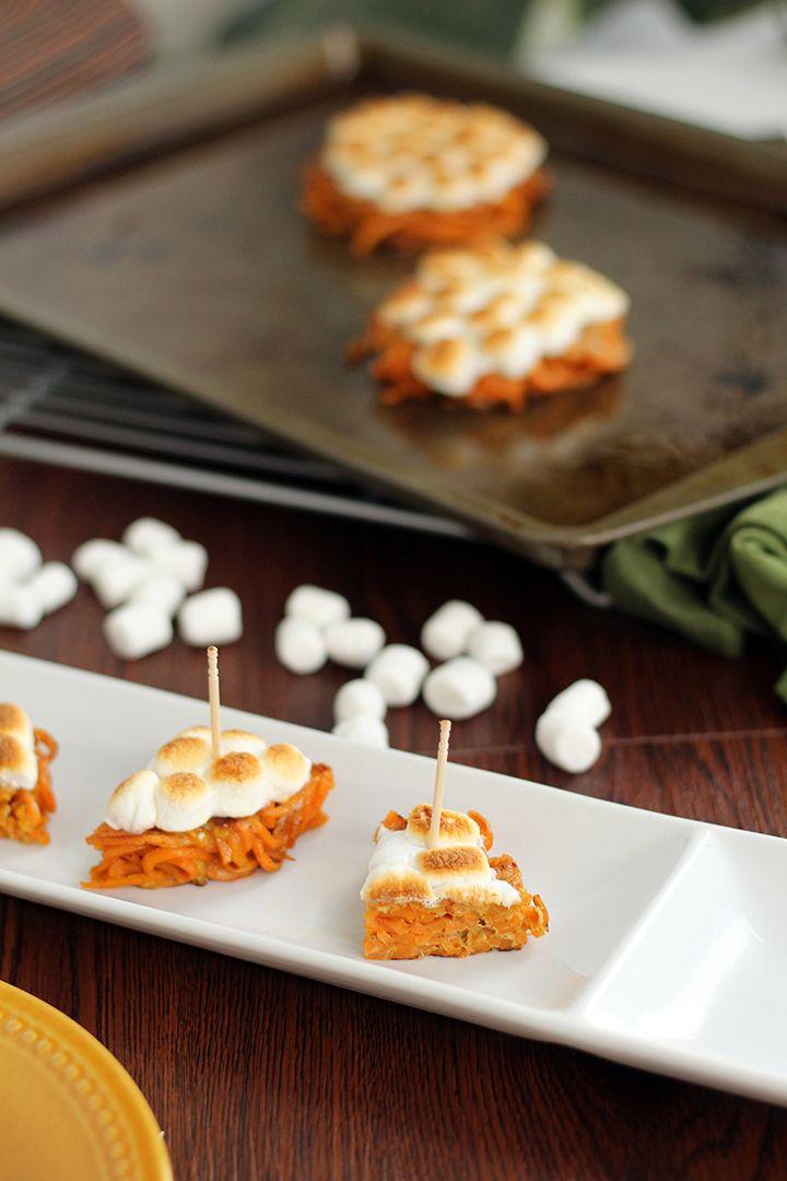 Mini Sweet Potato Casserole Bites - Inspiralized