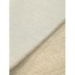 benuta Wollteppich Moorland Beige 68×240 cm – Naturfaserteppich aus Wolle benuta