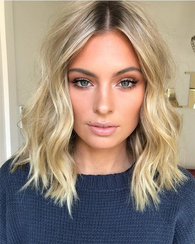 trendy medium length hair ideas inspirations 2019
