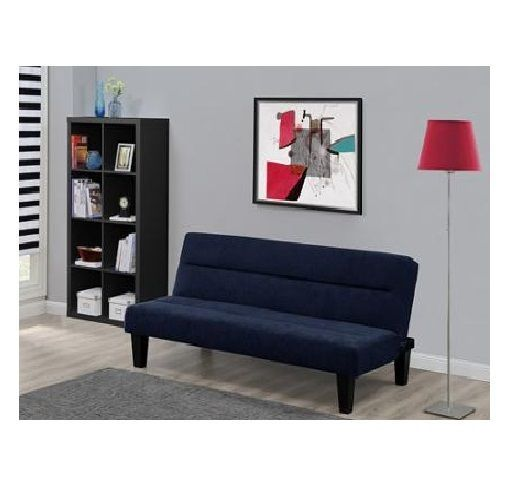 This Comfortable Low Set Futon Sofa Bed Is Ideal For Hanging Out