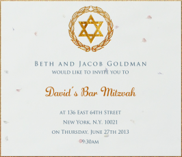 bar bat mitzvah invitations eventkingdom glittery shield of