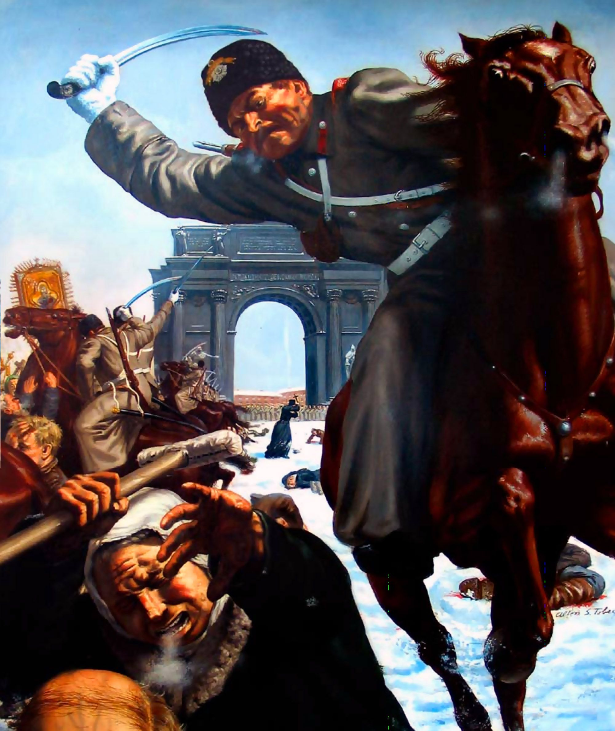 Russian Revolution Bloody Sunday
