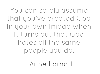 Anne Lamott...gotta pass this one along to hubby!