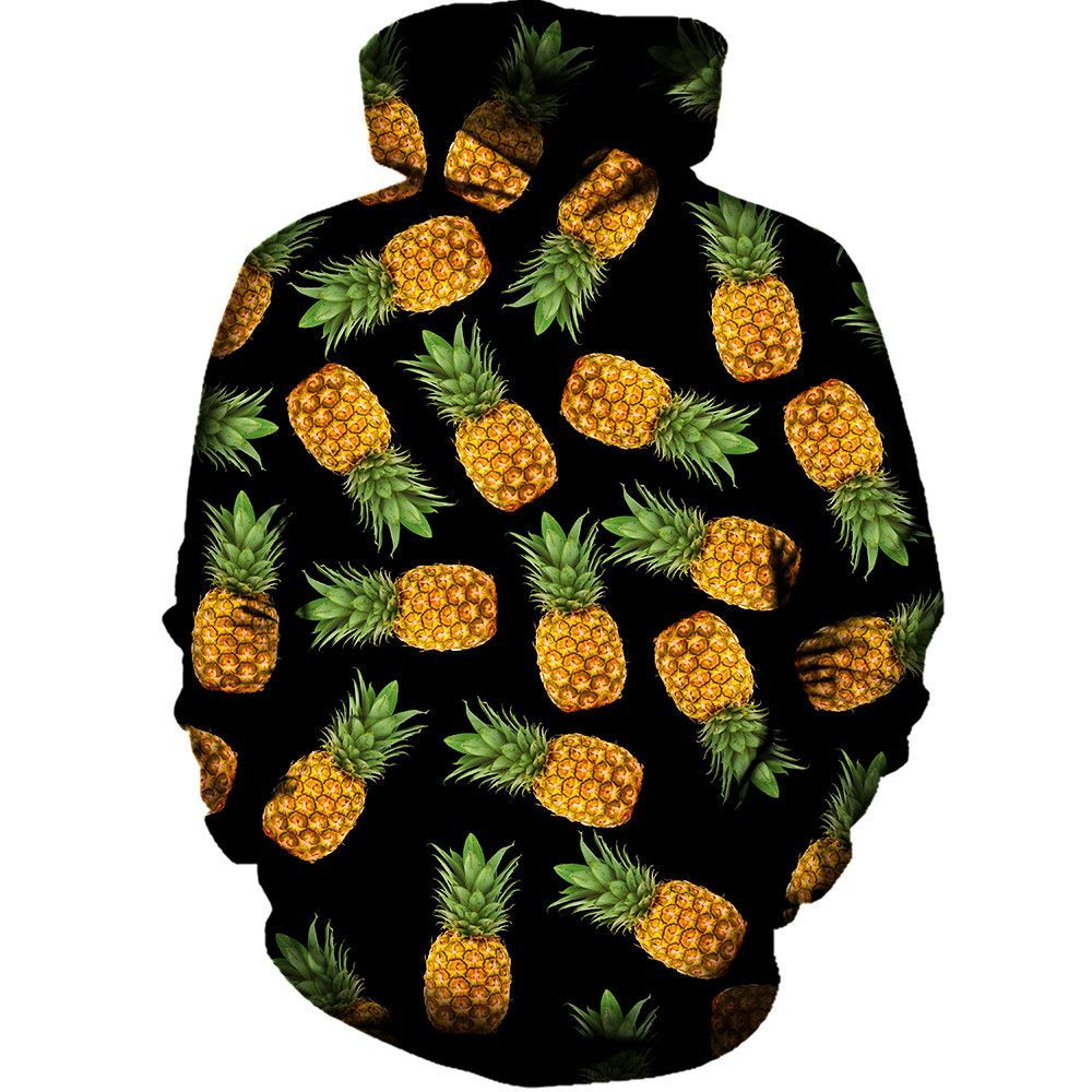 Join The Pineapple Movement With This All Over Print Rave Hoodie Pineapples Are Awesome They Are Fun To Look Rave Hoodie Pineapple Clothes Hip Hop Streetwear [ 1000 x 1000 Pixel ]