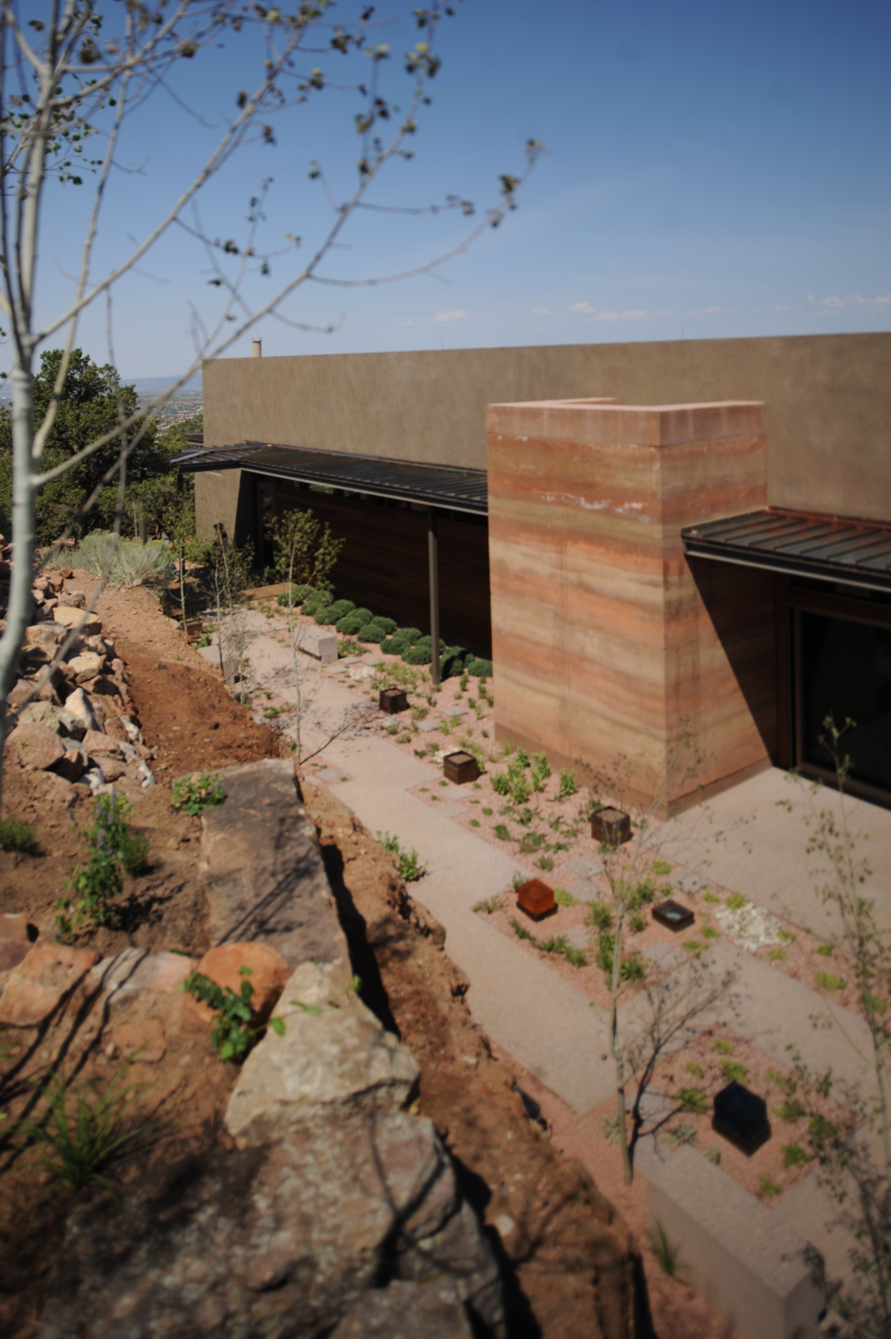 Torcasso House By Larry Speck Thermal Mass Natural Building