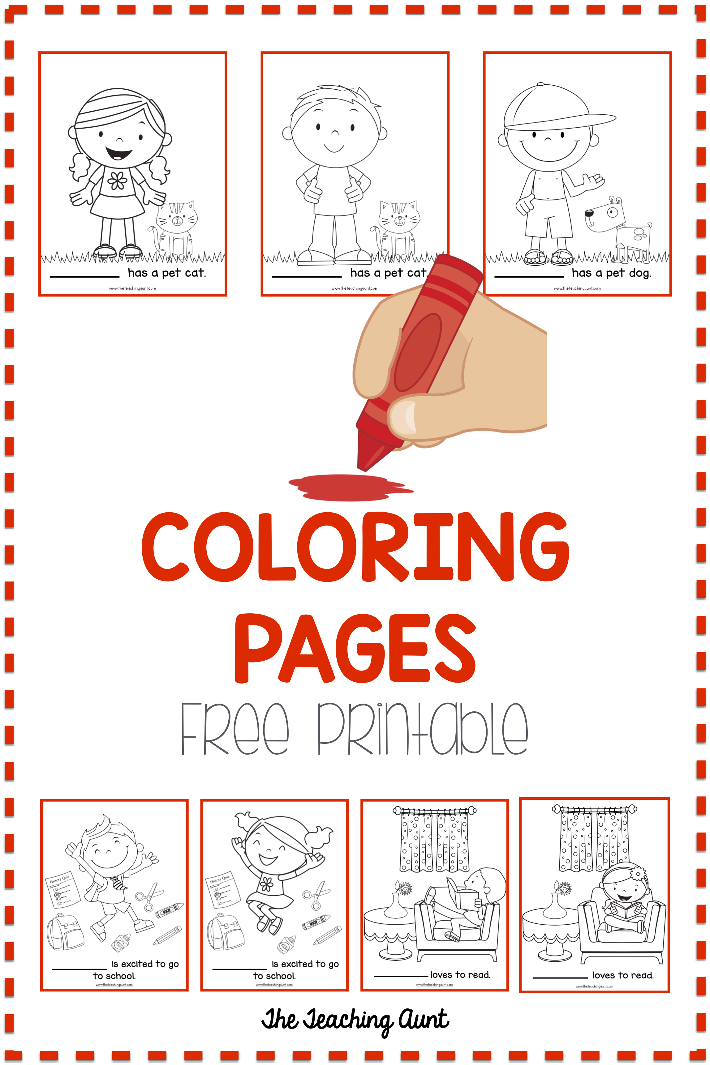 Benefits Of Coloring Activity For Toddlers And