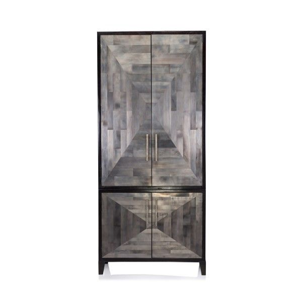 Marvelous Depth And Dimension Define The Perspective Facade Of The Parker Armoire.  Crafted By Oly, Theyu0027ve Paired Artful Aesthetics With Purposeful Design  Making For ...