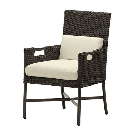 McGUIRE Dining Arm Chair TP - 521 | Outdoor | Pinterest