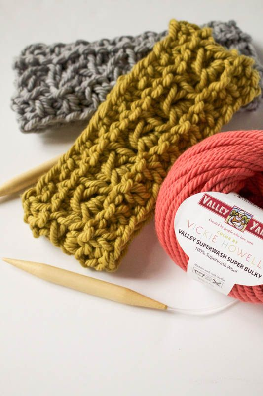Hot Headed Headband: Knit Along with Us from Vogue Knitting Live ...