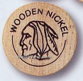 Wooden Nickel Remember This Vintage Way Back When Childhood
